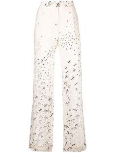широкие брюки Swallow Metamorphosis Valentino