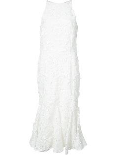 платье из цветочного кружева Christian Siriano