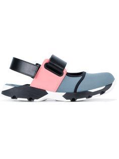 спортивные сандалии в стиле колор-блок Marni