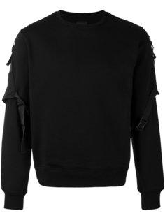 belted sleeve sweatshirt Les Hommes