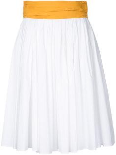 тканая юбка-миди Paule Ka