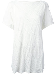 quilted creased T-shirt Ys Y`s
