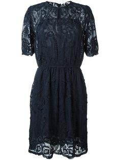 кружевное платье с цветочным узором Vanessa Bruno