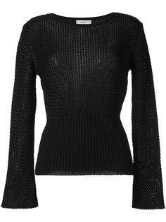 knit top Egrey