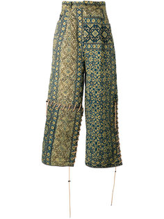 printed loose fit trousers Craig Green