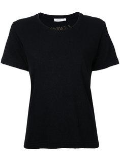классическая футболка с короткими рукавами  Simon Miller