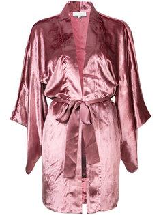 velvet Haori kimono Fleur Du Mal