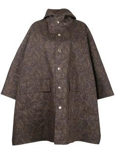 paisley print cape Mackintosh