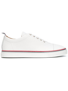 classic lace-up trainers Thom Browne