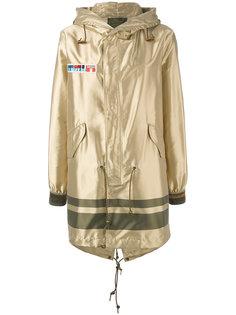 metallic coat Mr & Mrs Italy