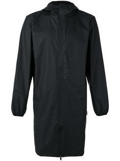 удлиненная куртка с капюшоном Rains