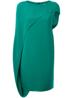 asymmetric draped dress Gianluca Capannolo