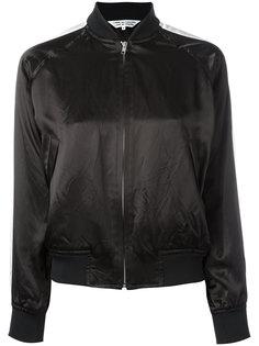 sleeve stripe bomber jacket Comme Des Garçons Comme Des Garçons