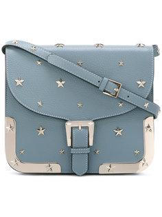 сумка-через плечо с заклепками в виде звезд Red Valentino