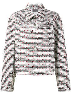джинсовая куртка с принтом Boys Girls Ashley Williams