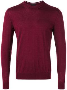 свитер с круглым вырезом под горло Z Zegna