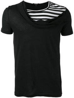 crossover neck T-shirt Unconditional