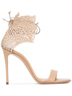 decorative lace-up sandals Casadei