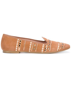 лоферы с заклепками Pretty Loafers