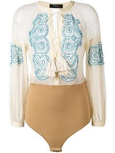 блузка boho с вышивкой Wandering