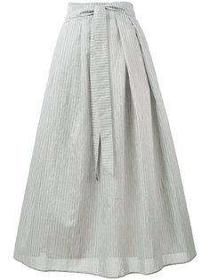 юбка в тонкую полоску средней длины Fabiana Filippi