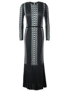 pattern knit gown Gig