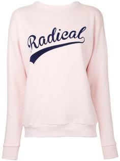 slogan sweatshirt Être Cécile