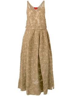 жаккардовое платье без рукавов Vivienne Westwood