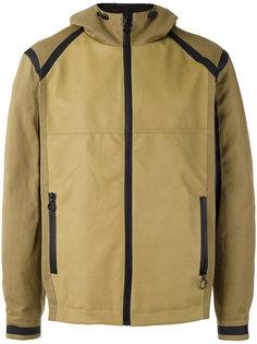 panelled hood jacket  Drome