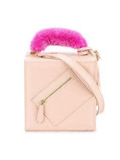 сумка на плечо из меха норки Natasha Zinko