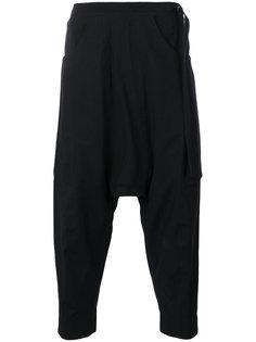 укороченные брюки с заниженным шаговым швом  The Viridi-Anne