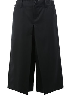 slit detail cropped trousers Ganryu Comme Des Garcons