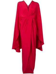 kimono wrap dress  Christian Siriano