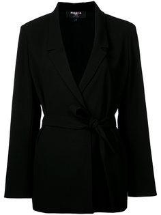 woven belted jacket Paule Ka