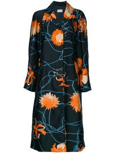 пальто с цветочным принтом Rankin Dries Van Noten
