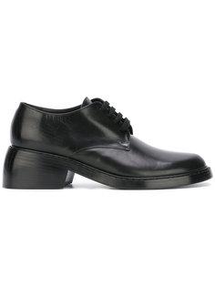 ботинки на устойчивом каблуке со шнуровкой Ann Demeulemeester
