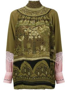 блузка Jungle Of Delight Valentino