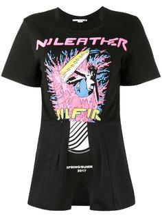 футболка с принтом серфингиста Stella McCartney