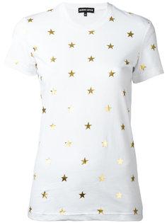 футболка с принтом звезд Markus Lupfer