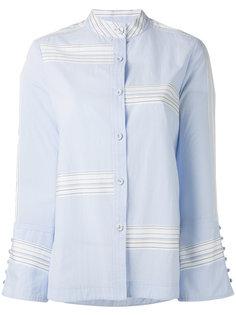 bell sleeve button-down shirt Derek Lam 10 Crosby