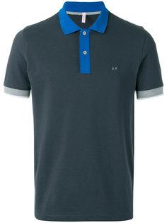 рубашка-поло с контрастной отделкой Sun 68