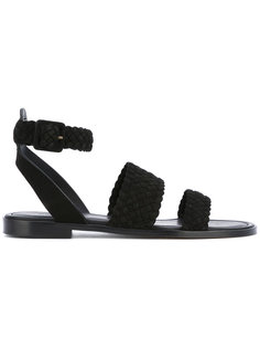 плетеные сандалии Paul Andrew