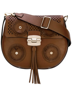 сумка на плечо с круглой отделкой Furla