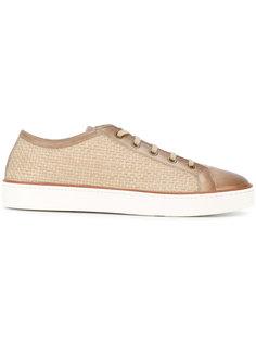 woven sneakers  Santoni