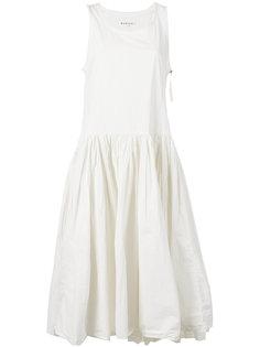 платье без рукавов с принтом сзади  Rundholz