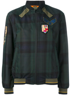 plaid print bomber jacket Mr & Mrs Italy