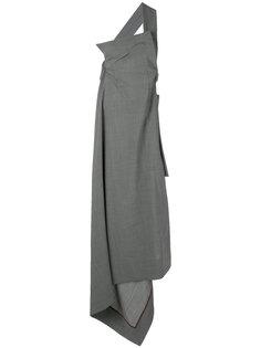 длинное асимметричное платье Vivienne Westwood