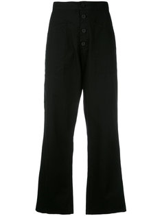 wide-leg cropped trousers Rta