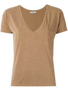 v-neck T-shirt Egrey