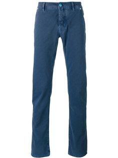 джинсы в клетку Jacob Cohen